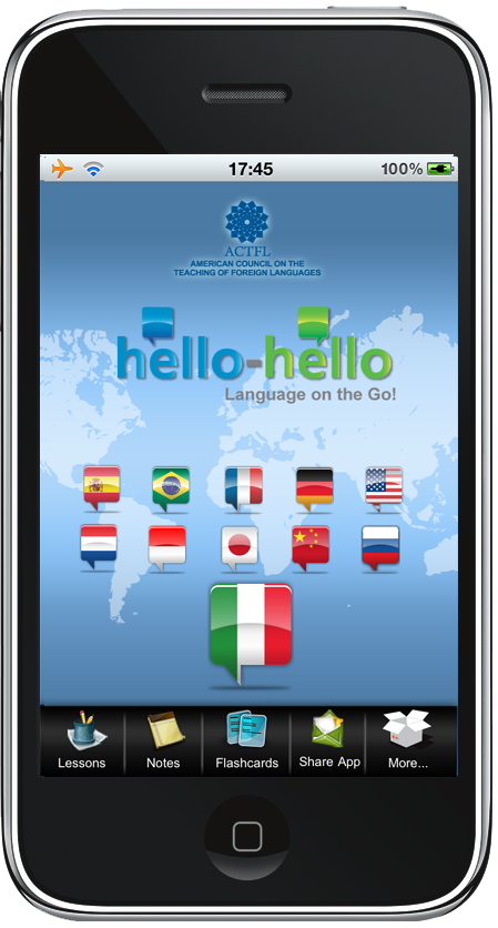 %iphone app reviewsHello Hello Launch language learning apps for the iPhone